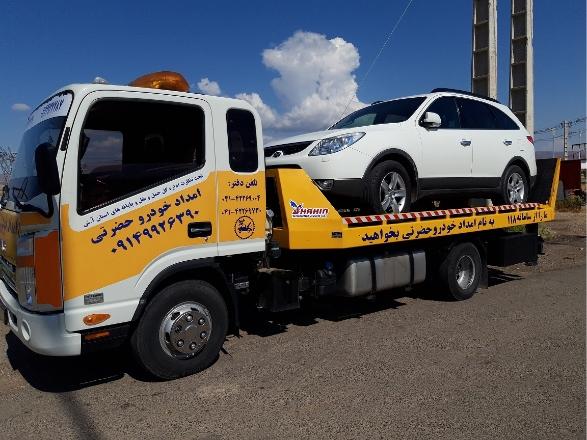 گالری عکس امداد خودرو حضرتی ارومیه