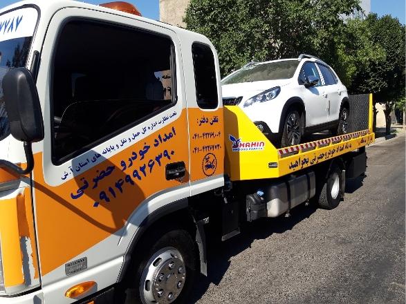 گالری عکس امداد خودرو حضرتی مهاباد