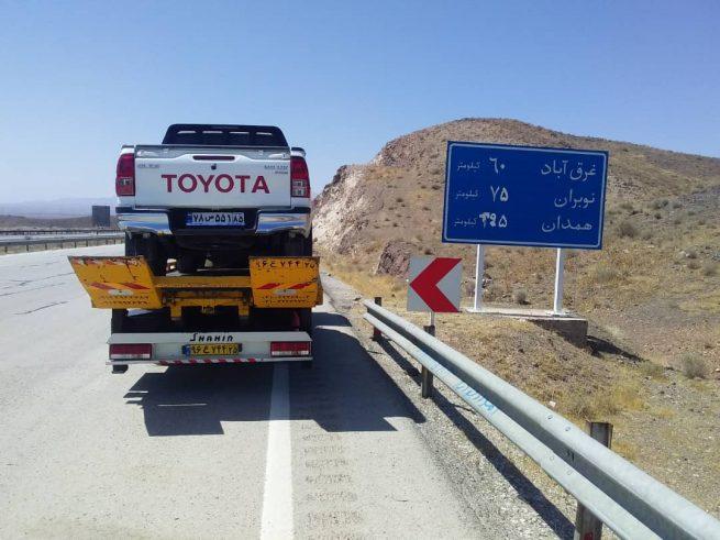 امداد خودرو بستان آباد